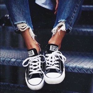 Converse All Star Black & White Low Top